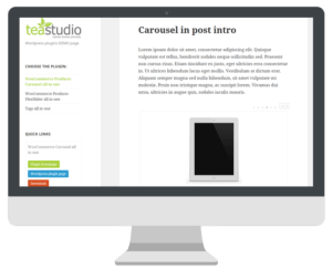 WooCommerce Products Carousel all in one
